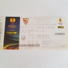 Coleccionismo deportivo: ENTRADA SEVILLA FC - VILLARREAL (UEFA EUROPA LEAGUE) 2014/2015 OCTAVOS DE FINAL. Lote 194520943