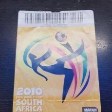 Coleccionismo deportivo: ENTRADA FINAL MUNDIAL SUDÁFRICA 2010 ESPAÑA HOLANDA. Lote 194731058