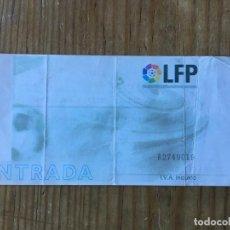 Coleccionismo deportivo: R8104 ENTRADA TICKET FUTBOL BARCELONA ATLETICO MADRID LIGA TEMPORADA 1999 2000 DEBUT CELSO AYALA. Lote 195000126