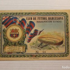 Coleccionismo deportivo: BARÇA, CLUB DE FUTBOL BARCELONA, INAUGURACIÓN ESTADIO CAMP NOU, 24 09 1957, ENTRADA Nº 53, C.F.B. Lote 195003728