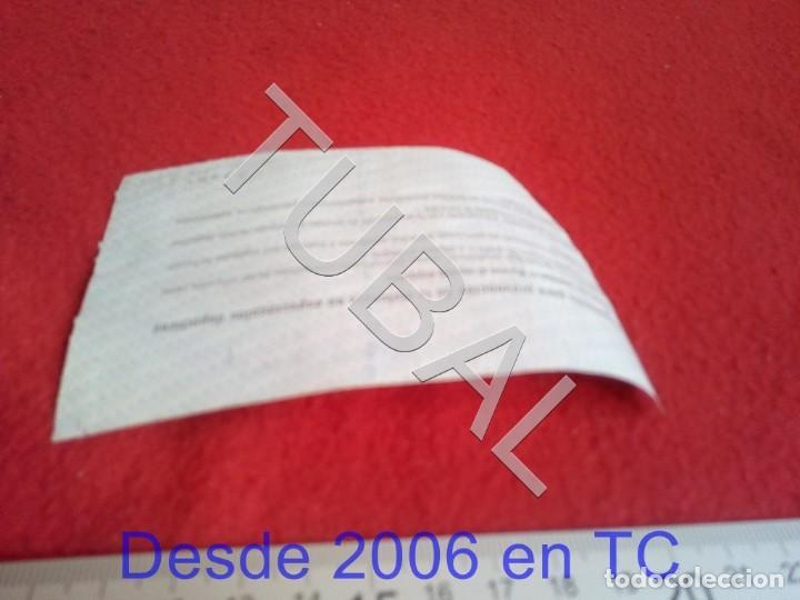Coleccionismo deportivo: TUBAL ATHLETIC BILBAO ENTRADA LIGA 18 8 1996 REAL SOCIEDAD 6 1 B49 - Foto 2 - 195290500