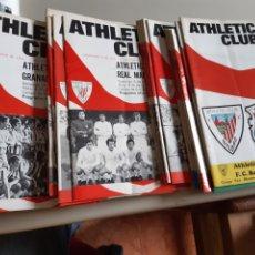 Coleccionismo deportivo: LOTE DE 38 PROGRAMAS DE MANO OFICIALES SAN MAMES PARTIDOS ATHLETIC BILBAO ENTRE 1970 Y 1975 INC Nº 1. Lote 202955460