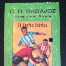 Coleccionismo deportivo: ENTRADA FUTBOL RAPID DE VIENA WIEN VS LAS PALMAS II TROFEO IBÉRICO TICKET FOOTBALL EL VIVERO. Lote 205002765