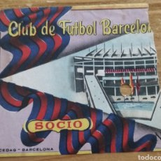 Coleccionismo deportivo: ENTRADA ANTIGUA CF BARCELONA 1956-57. Lote 205708500