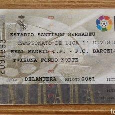 Coleccionismo deportivo: ENTRADA REAL MADRID- FC BARCELONA 1995-96. Lote 205812942