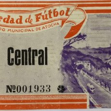 Coleccionismo deportivo: 1961/62 REAL SOCIEDAD V VALENCIA ENTRADA. Lote 205819583