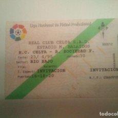 Coleccionismo deportivo: ENTRADA R.C. CELTA-R. SOCIEDAD 94/95. Lote 206406756
