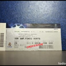 Coleccionismo deportivo: ENTRADA TICKET PASE REAL MADRID VS BARCELONA CHAMPIONS LEAGUE 27 - 04 - 2011. Lote 206767092