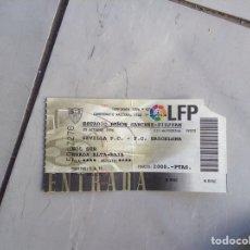 Coleccionismo deportivo: ENTRADA TEMPORADA 1996/97 SEVILLA-BARCELONA. Lote 210587748