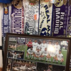 Coleccionismo deportivo: CUADRO REAL MADRID 1998 +ENTRADA FINAL CHAMPIONS. Lote 210696597