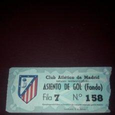 Coleccionismo deportivo: ENTRADA ESTADIO METROPOLITANO ATLETICO DE MADRID. Lote 210943717