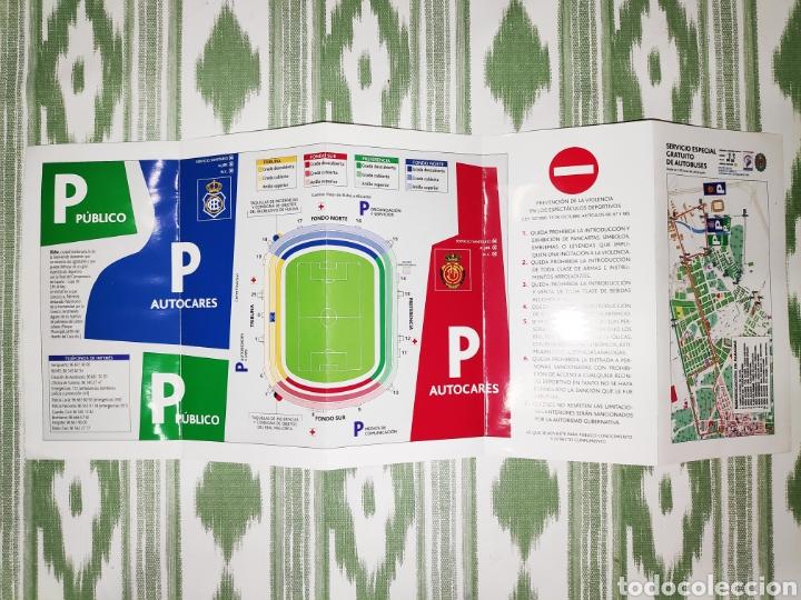 Coleccionismo deportivo: Entrada ticket final copa del rey 2003 + folleto informativo. Mallorca-Recreativo de Huelva - Foto 5 - 210969844