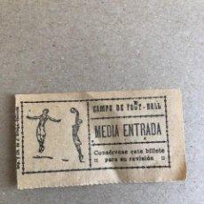 Coleccionismo deportivo: ENTRADA TIKET MUY ANTIGUA FOOT-BALL. Lote 211421709