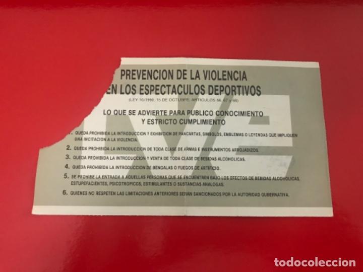Coleccionismo deportivo: Entrada fútbol final copa Rey España Real Zaragoza - Celta 1994 - Foto 2 - 211869190