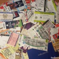Collezionismo sportivo: LOTE 100 ENTRADAS FUTBOL. Lote 213474593