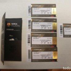 Coleccionismo deportivo: 5 ENTRADAS VIP F.C. BARCELONA-GRANADA C.F., 2019-2020. Lote 213613598