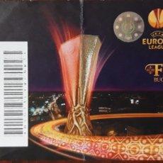 Coleccionismo deportivo: ENTRADA FINAL EUROPA LEAGUE 2012. ATLÉTICO DE MADRID VS ATHLETIC CLUB BILBAO. Lote 216383136