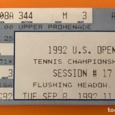 Coleccionismo deportivo: F7 1992 U. S. OPEN TENIS TENNIS CHAMPIONSHIP TICKET FLUSHING MEADOW N. Y.. Lote 217847648