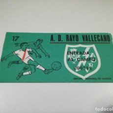 Coleccionismo deportivo: ENTRADA PARTIDO RAYO VALLECANO - CALVO SOTELO. TEMPORADA 68-69 DE SEGUNDA DIVISIÓN (3).. Lote 220110326