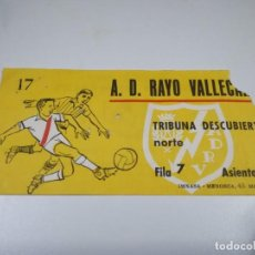 Coleccionismo deportivo: ENTRADA PARTIDO RAYO VALLECANO - CALVO SOTELO. TEMPORADA 68-69 DE SEGUNDA DIVISIÓN (1).. Lote 220111248