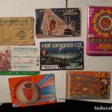 Coleccionismo deportivo: TARJETAS NOMINATIVAS FÚTBOL Y TOROS, DINÁMICO... Lote 222587270
