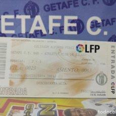 Coleccionismo deportivo: ENTRADA LIGA 2004 2005 (03 10 2004) GETAFE VS ATHLETIC DE BILBAO. Lote 223195917