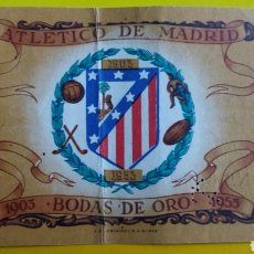 Coleccionismo deportivo: ENTRADA BODAS DE ORO ATLÉTICO DE MADRID 1953. Lote 231293785