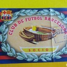 Coleccionismo deportivo: ENTRADA F.C.BARCELONA-BLACKPOOL DE 1957. Lote 231306840