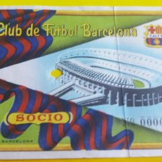 Coleccionismo deportivo: ENTRADA AÑO 1956 ENTRE F.C.BARCELONA-KICKER OFENBACH ALEMAN. Lote 231308760