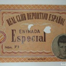 Coleccionismo deportivo: ENTRADA ESPANYOL ESPAÑOL SEVILLA 53 54 COPA. Lote 231848290