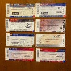 Coleccionismo deportivo: LOTE 8 ENTRADAS VALENCIA Y FC BARCELONA DIFERENTES AÑOS. Lote 233174370