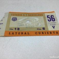 Coleccionismo deportivo: ENTRADA DE FUTBOL - F.C. BARCELONA - BARÇA. Lote 234504470