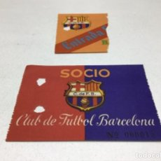 Coleccionismo deportivo: LOTE ENTRADAS DE FUTBOL - F.C. BARCELONA - BARÇA. Lote 234509710