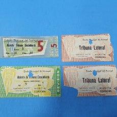 Coleccionismo deportivo: ANTIGUAS ENTRADAS FÚTBOL - MURCIA / CÓRDOBA - TEMPORADA 58/59. Lote 236332165