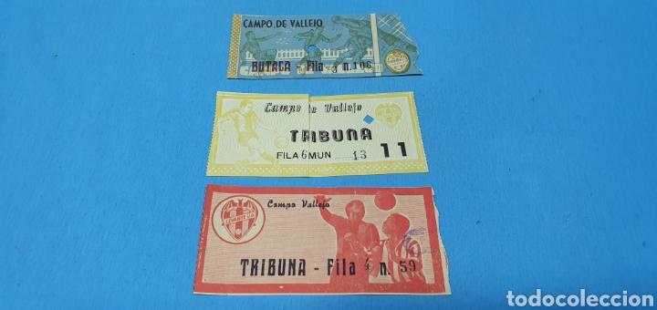 ANTIGUAS ENTRADAS DE FÚTBOL - LEVANTE U. D. - CAMPO DE VALLEJO (Coleccionismo Deportivo - Documentos de Deportes - Entradas de Fútbol)