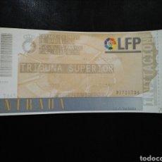 Coleccionismo deportivo: ENTRADA FUTBOL ESPAÑOL GIRONDIMS INTERTOTO 1998. Lote 236986265