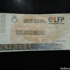 Coleccionismo deportivo: ENTRADA FUTBOL ESPAÑOL FEYENOORD UEFA 1996. Lote 236987275