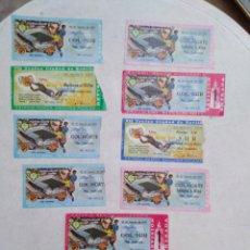 Coleccionismo deportivo: LOTE DE 9 ENTRADAS + 2 INVITACIONES DEL TROFEO CIUDAD DE SEVILLA. Lote 239916675