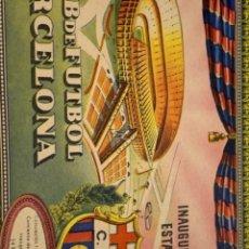 Coleccionismo deportivo: AUTÉNTICA ENTRADA INAUGURACIÓN CAMP NOU. Lote 247534155