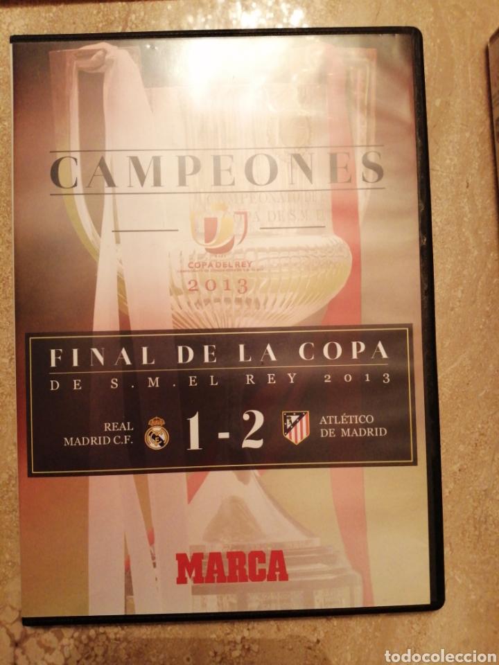 Coleccionismo deportivo: Lote Atlético de Madrid entradas y DVDs - Foto 2 - 249132475