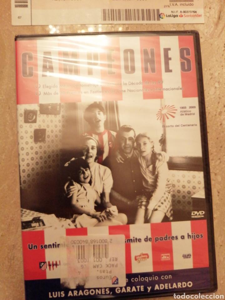 Coleccionismo deportivo: Lote Atlético de Madrid entradas y DVDs - Foto 3 - 249132475