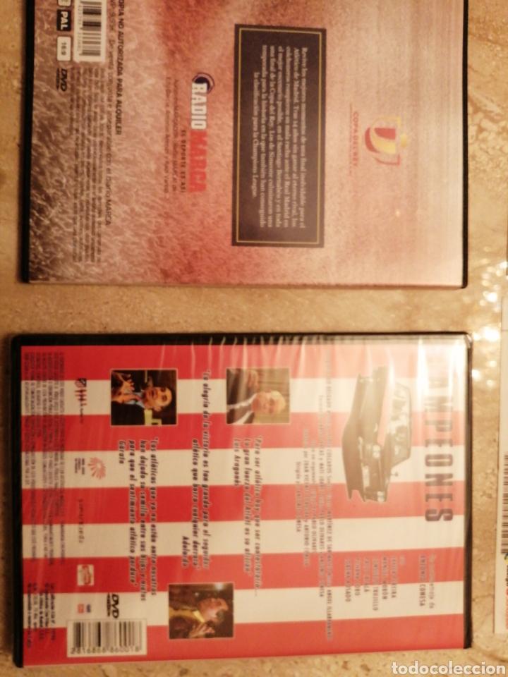 Coleccionismo deportivo: Lote Atlético de Madrid entradas y DVDs - Foto 6 - 249132475