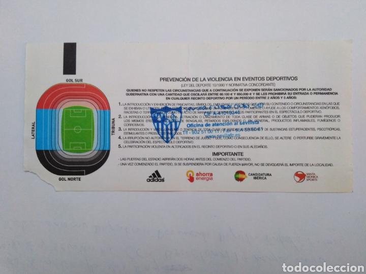 Coleccionismo deportivo: Entrada final copa de S.M. El Rey / At. Madrid y Sevilla ( Barcelona 19 mayo 2010 ) - Foto 2 - 251903860