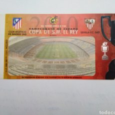 Coleccionismo deportivo: ENTRADA FINAL COPA DE S.M. EL REY / AT. MADRID Y SEVILLA ( BARCELONA 19 MAYO 2010 ). Lote 251903860