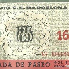 Coleccionismo deportivo: C3.- ESTADIO DEL CLUB DE FUTBOL BARCELONA-ENTRADA DE PASEO-GOL SUR GRADA BAJA-PASO I-16. Lote 253793625