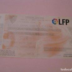 Coleccionismo deportivo: ENTRADA DE FÚTBOL PARA 2 PARTIDOS. SEVILLA F. C. - TSV AACHEN, AEK ATHENS F. C. 2004.. Lote 261545420