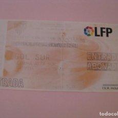 Coleccionismo deportivo: ENTRADA DE FÚTBOL. SEVILLA F. C. - C. AT. OSASUNA. 2005 COPA DEL REY. ESTADIO RAMON SANCHEZ-PIZJUAN.. Lote 261545655