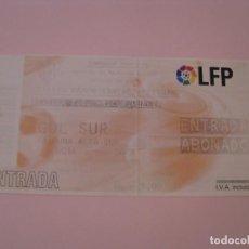 Coleccionismo deportivo: ENTRADA DE FÚTBOL. SEVILLA F. C. - R.C.R. HUELVA. 2005 COPA DEL REY. ESTADIO RAMON SANCHEZ-PIZJUAN.. Lote 261545780