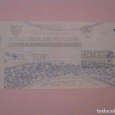 Coleccionismo deportivo: ENTRADA DE FÚTBOL SEVILLA F. C. - PANATHINAYKOS FC. UEFA EUROPA LEAGUE 2004 2005.. Lote 261547095