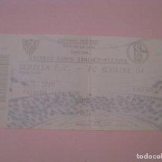 Coleccionismo deportivo: ENTRADA DE FÚTBOL SEVILLA F. C. - FC SCHALKE. RAMON SANCHEZ PIZJUAN. 2005/2006. COPA DE UEFA.. Lote 261549675